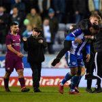 Conato de Bronca de Guardiola, expulsión y eliminación del City ante el Wigan