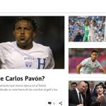 La prensa española se acuerda de Carlos Pavón