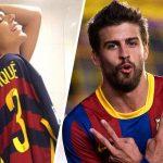 Exmiss BumBum saludó desnuda a Piqué por su cumpleaños