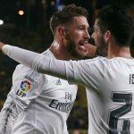 Sergio Ramos encaró a Isco tras la pérdida en Cornellá