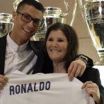 Cristiano Ronaldo recibe un tierno mensaje de su mamá en su cumpleaños