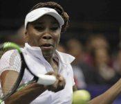 Venus Williams celebra con victoria su partido mil como profesional
