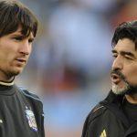 El consejo con el Maradona le enseñó a Messi a lanzar las faltas (VÍDEO)