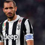 Chiellini es duda para el partido contra el Real Madrid