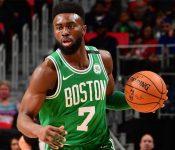 La brutal caída de Jaylen Brown que asustó a la NBA