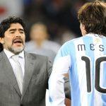 Los consejos de Maradona a Messi (Vídeo)