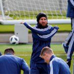 Enemigo en casa: Messi entrena en la ciudad deportiva del Madrid