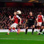 Europa League: Arsenal destroza al Milan en Londres