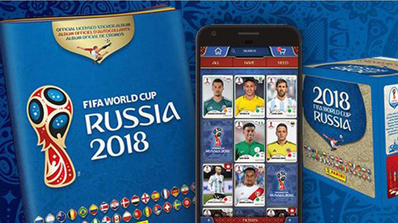 Así lucen Messi, Cristiano y Neymar en el Álbum Panini de Rusia 2018