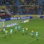 Primer penalti pitado al Barca en Liga después de dos años