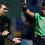 Vázquez arremete contra el árbitro Armando Castro