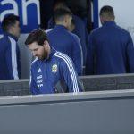Messi descartado para el partido frente a España