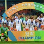 Uruguay campeón de la China Cup