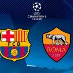 Así jugarán Barcelona y Roma