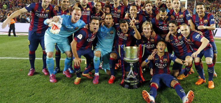 Barcelona va por el octavo doblete de su historia