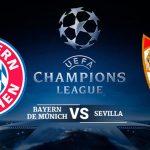 ALINEACIONES: Bayern Múnich – Sevilla