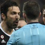 """Buffon debió golpear al árbitro"""
