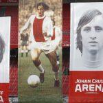Develan el logo del Johan Cruyff Arena