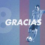 El mundo del fútbol da las gracias a Iniesta tras anunciar su adiós al Barça