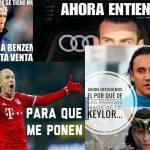 Los memes del Bayern vs Madrid