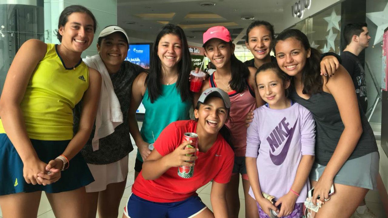 Todo un éxito resultó el Torneo Nacional de Tenis