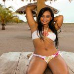 Modelo hondureña Diana Johnson roba suspiros en los verdolagas