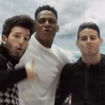 Futbolistas colombianos aparecen en vídeo musical para el Mundial