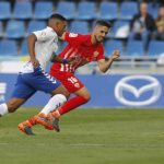 Bryan Acosta jugó 80 minutos en triunfo del Tenerife