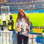 La hondureña que trabaja con el Real Madrid (FOTOS)