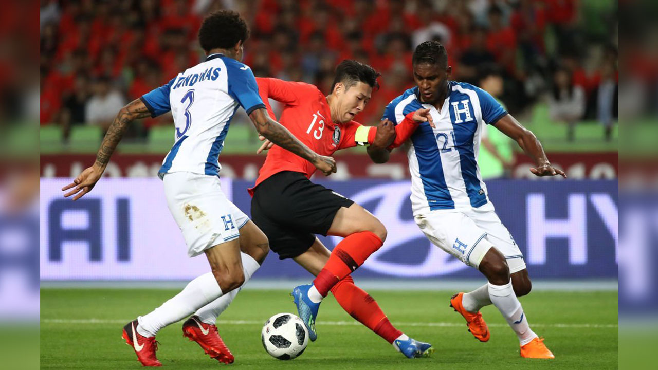 Honduras cayó 2-0 ante Corea del Sur
