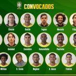 Los 23 futbolistas de Brasil para el Mundial