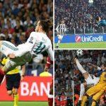 Las chilenas marcaron el triplete del Real Madrid en Champions (VÍDEO)