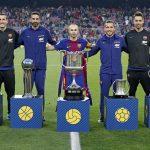 Una imagen para la historia: 5 capitanes campeones de Copa