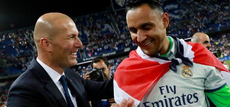 Keylor le agradece a Zidane todo el apoyo recibido