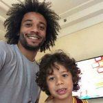 Marcelo y su hijo volvieron a demostrar su talento