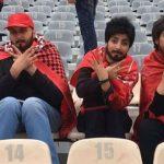 Mujeres iraníes se disfrazan de hombres para entrar a un estadio de fútbol