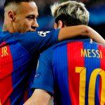 Messi: «Neymar sabe que no me gustaría que fuera al Madrid, se lo he dicho»