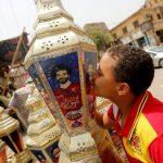 Egipto enloquece con su ídolo Mohamed Salah