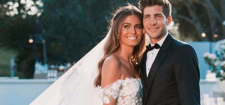 Se casó Sergi Roberto y Coral Simanovich