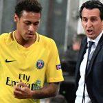 Emery: «En el PSG el líder es Neymar»