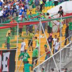 Barra de Marathón lanza fuerte amenaza a los aficionados del Motagua