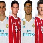 Sorpresa en la alineación del Real Madrid