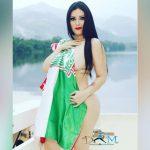 Ariana Herchi festeja el título de su querido Marathón (FOTOS)
