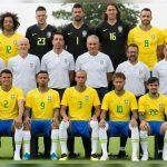 Brasil presentó la foto oficial del equipo