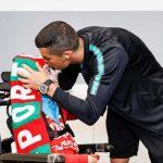 Cristiano Ronaldo cumple el sueño de dos niños enfermos