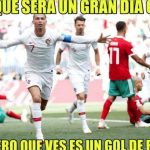 Cristiano Ronaldo protagonista de los memes del Portugal-Marruecos