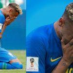El llanto de Neymar tras vencer a Costa Rica