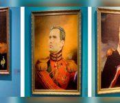 Cómo se verían los futbolistas más conocidos si fueran pintados como retratos de militares