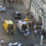 Lamentable: taxista atropella a multitud en Moscú