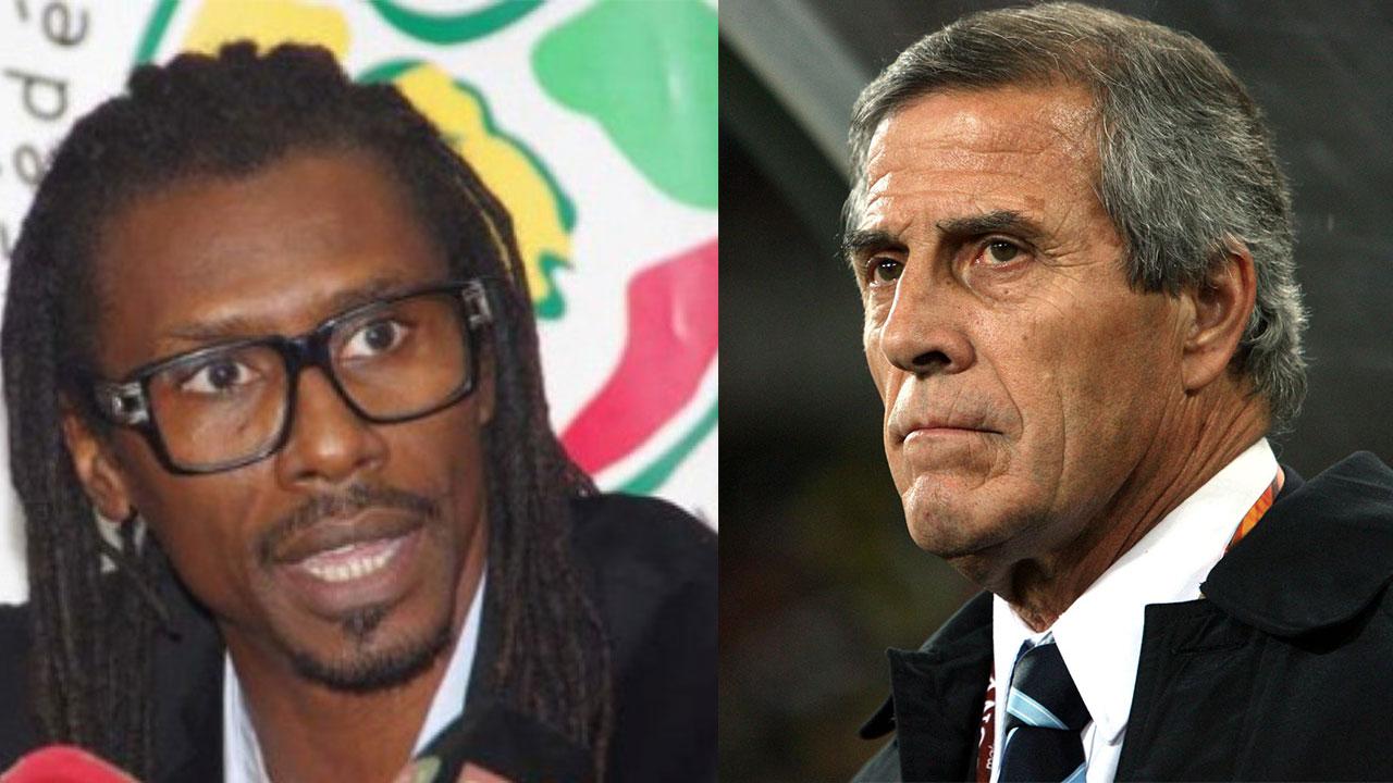 Aliou Cissé de Senegal es el técnico más joven del Mundial, Washington Tabárez el más longevo